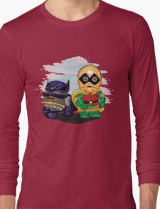 Bat-D2 and Rob-3PO Long Sleeve T-Shirt
