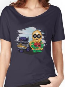 Bat-D2 and Rob-3PO Women's Relaxed Fit T-Shirt