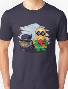 Bat-D2 and Rob-3PO Unisex T-Shirt