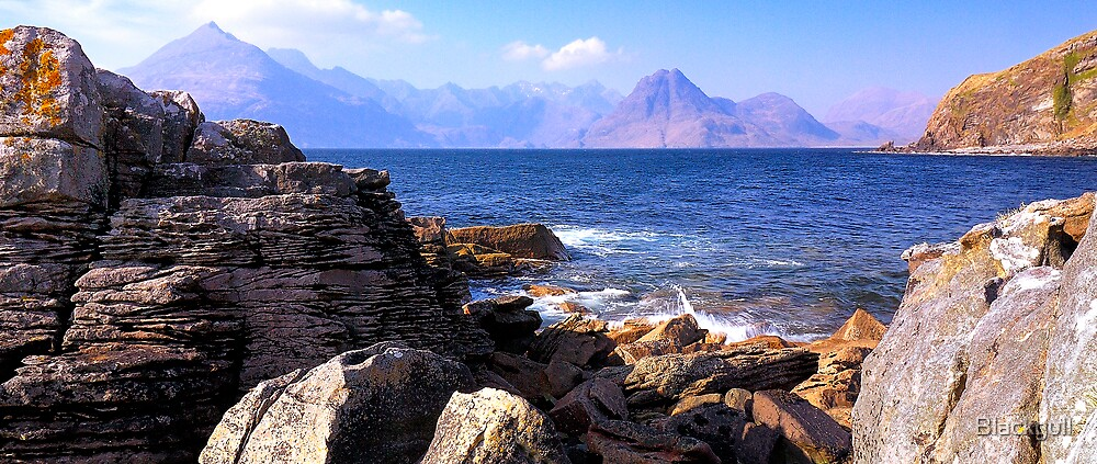 Black Cullins From Elgol by Blackgull