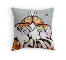 SYDNEY GRAFFITI 25 Throw Pillow
