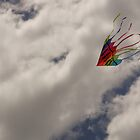 Kite in the Clouds by Kenneth Hoffman