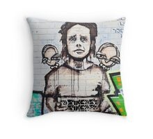 SYDNEY GRAFFITI 26 Throw Pillow