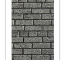 The Letter T - brick wall Sticker