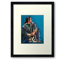 """Spirit Guidance"" Framed Print"