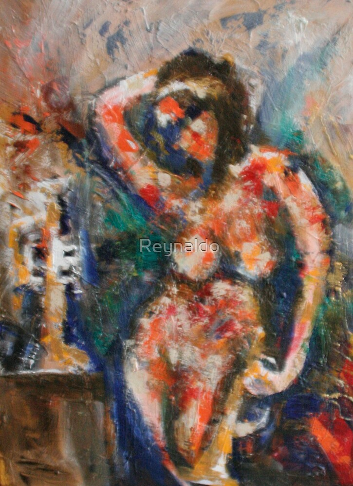 The Trumpet and The Nude by Reynaldo