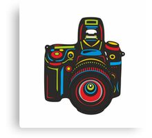 Black Camera Canvas Print