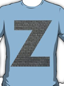 The Letter Z - Brick wall T-Shirt