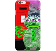 Dr WHAT is in for a Surprise iPhone Case/Skin