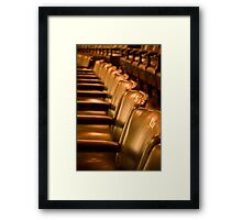 Astor Theatre Chairs  Framed Print