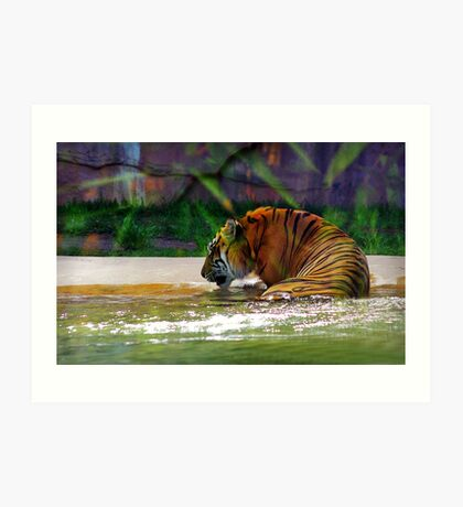 """""""It's my birthday and all I get is water"""" Art Print"""