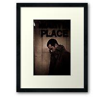 Model Shot 15 - Martin Place Framed Print