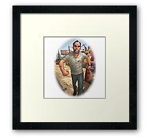 Trevor GTA V Framed Print