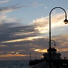 Dusk on St Kilda Pier by DianneLac