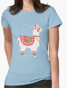 The Alpaca Womens Fitted T-Shirt