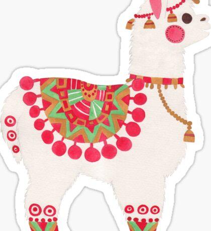 The Alpaca Sticker