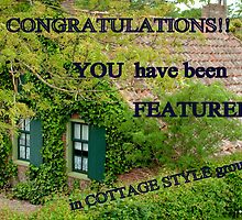 Cottage Style Banner by ienemien