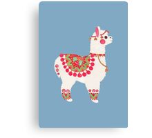 The Alpaca Canvas Print