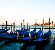 Gondolas in Orton by Sheila Laurens