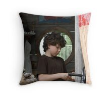 Almost an Angel Throw Pillow