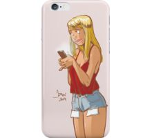 Cellular Chat iPhone Case/Skin