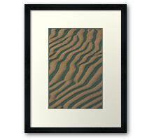 Dune Abstract Framed Print