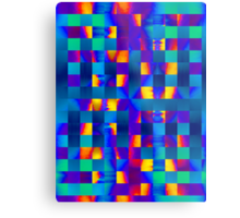 Colour Fusion Metal Print