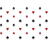 Spade, Club, Diamond, Heart Photographic Print