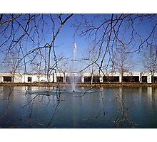 Fountain Photographic Print