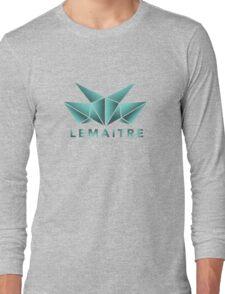 Lemaitre Abstract Design Long Sleeve T-Shirt