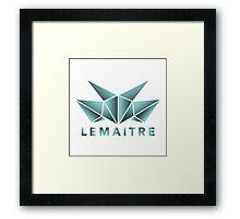 Lemaitre Abstract Design Framed Print