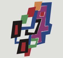 Geometric Man by Rebekah  McLeod