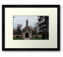 Replica Of Chapel Framed Print