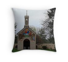 Replica Of Chapel Throw Pillow