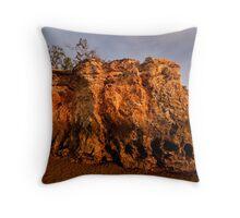 Dripstone Rocks, Darwin Beach Throw Pillow
