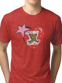 Treasure the Moonbears  Tri-blend T-Shirt