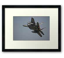 The Grill Is Lit Framed Print
