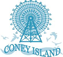 Coney Island - New York. by America Roadside.