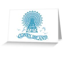Coney Island - New York. Greeting Card