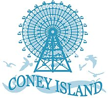Coney Island - New York. Photographic Print