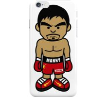 Angry Manny Pacquiao Cartoon by AiReal Apparel iPhone Case/Skin