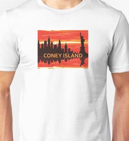 Coney Island - New York. Unisex T-Shirt