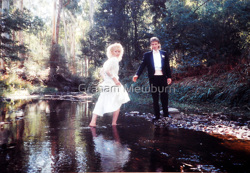 Barefoot bride by Graham Mewburn