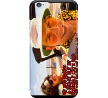 He who makes a beast of himself gets rid of the pain of being a man iPhone Case/Skin