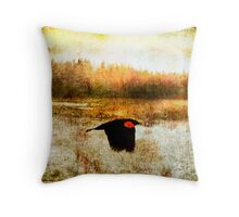 spirit flown Throw Pillow
