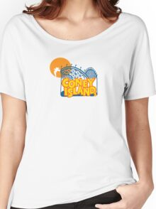 Coney Island - New York. Women's Relaxed Fit T-Shirt