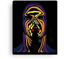 Contour Man (super-hero) Canvas Print