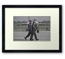 Home of the Brave Framed Print