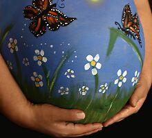 Monarch Butterfly Garden by Ghelly