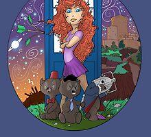 Dr. Who Disney Mashup - Merida by Todd  Benevides